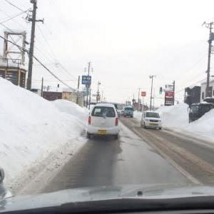 町の除雪作業