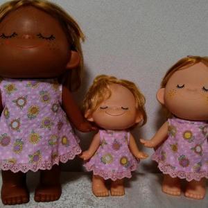 また、亜土ちゃん人形の服、オーダー品…