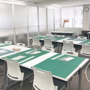 ヴォーグ学園東京校でのレッスンでした^^