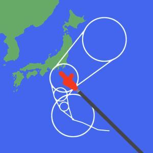 台風19号の日【小学3年生】