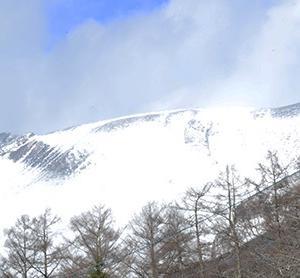 雪で関越道の立ち往生も解消  冬型の気圧配置で連日氷点下10度の軽井沢