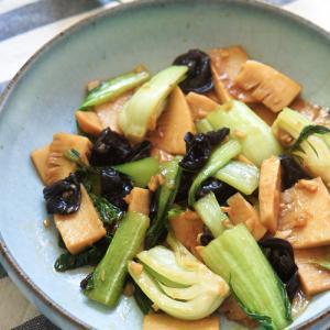 作り置きお惣菜中華★青梗菜のオイスターソース炒め