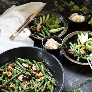 野菜だけなのに美味しすぎてご飯無限大♪いんげんのアジアンな炒め物