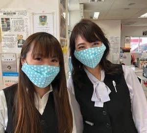 2020年4月22日(水)  手縫いのマスク