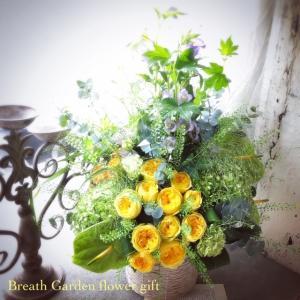 色々オーダーのお花たち
