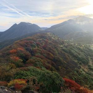 くじゅう連山の紅葉 2019