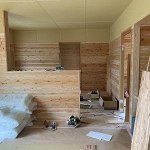 新築工事の進捗状況♪