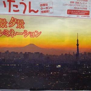 我が町から見える富士