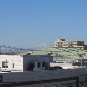 富士山から雪が消えた