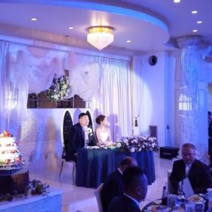 しげちゃんの結婚披露宴に出席!
