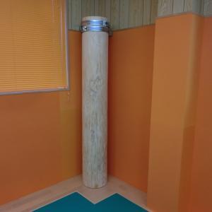 金の鉄砲柱、銀の鉄砲柱