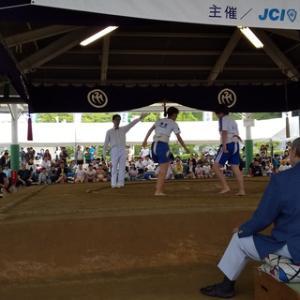 わんぱく相撲松山場所2019に挑む!