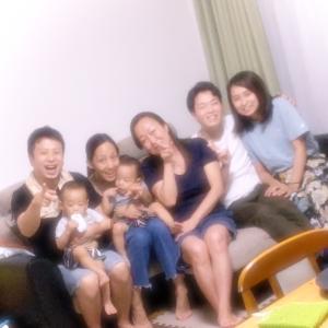 最高の幸せを得た…家族で♪