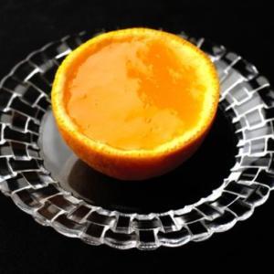 ぷるぷる&なめらか 果汁たっぷりオレンジゼリー   暑い日に出されたらo(^-^)o