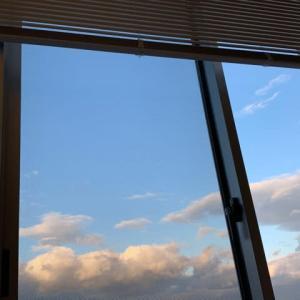 病室からの空
