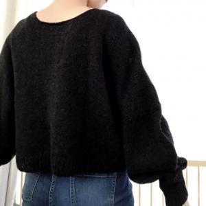 哲学者のセーター 着画撮ったってよ。