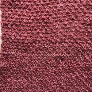 【編んでいるもの】horai scarf