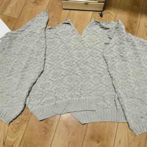 【編んでいるもの】セーター