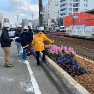 阪堺線花壇計画の締めくくり