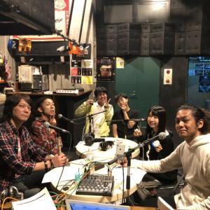 ラジオ収録 今日はスタジオ