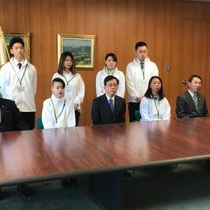 第57回技能五輪全国大会奈良県庁へ表敬訪問に伺いました。