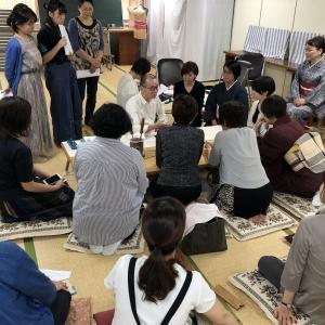 奈良県和裁職種1級技能士フォローアップ講習を開催しました。