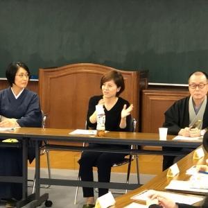 現役の和裁士の方をお呼びし、学生対象の和裁技術向上のための講習会を開催しました。