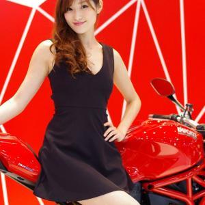 第41回モーターサイクルショー:キャンギャルカメコってキタ