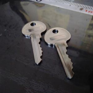 鍵を作った。