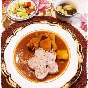鶏手羽元のスパイスカレー♪ Chicken Curry