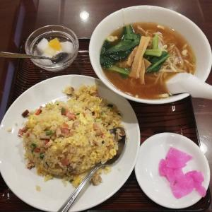 中華料理 美山飯店 【五目チャーハンと半ラーメンランチ♪】