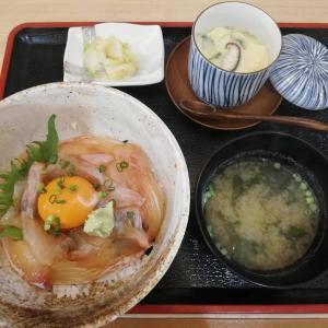 海鮮酒場 いえもん【本日の魚料理定食:ひらめ と そいの漬け丼♪】