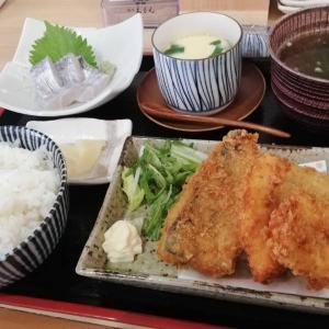 海鮮酒場 いえもん【本日の魚料理定食:アジとヤガラのフライ♪】