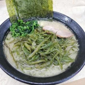 ラーメン 川崎家 榎町店【塩ラーメン(並)+茎わかめ】