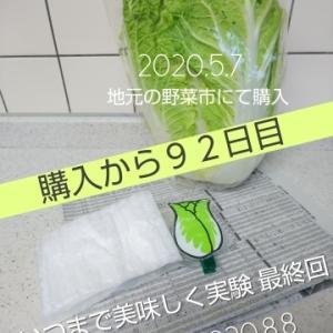 2020.8.8 ベジバッジッケン 完結 白菜編 ✨