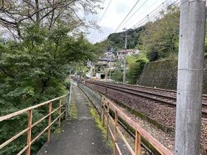 台風通過後に岩湧山から一徳坊山へ