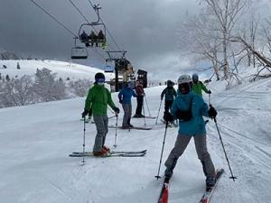 スキージャム勝山に10人以上のテレマーカーが集結!