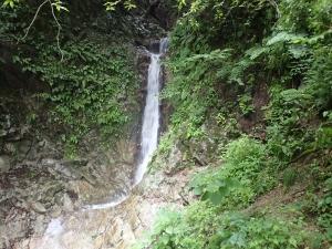 今季3度目の金剛山高天谷は増水気味!
