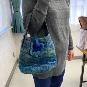 編み物サークルも1年になりました。