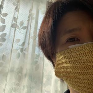自宅マスク