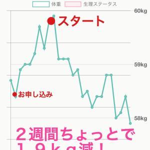 40代Yさん講座スタート前の増量【モデル体型ダイエット塾】