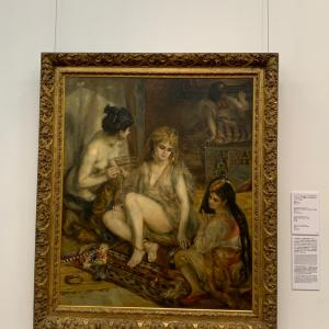 国立西洋美術館 常設展の好きな絵画 ルノワール
