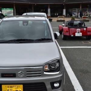 アルトワークス5AGSで富山へ-砺波チューリップ公園