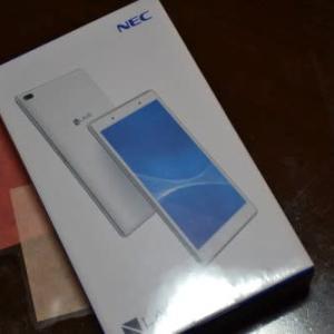 NEC LAVIE Tab E TE508/HAWを買いました