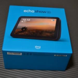 Amazon echo Show8を買ってみた