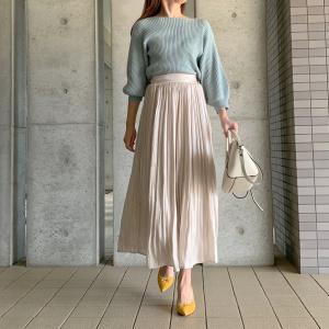 ☆エアリー素材のスカートがこの春の主役☆