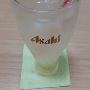 疲労回復に効果あり クルンモットさんにて 手作りの梅ソーダを頂きましたぁ!(^^)!