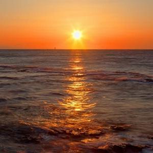 掛川の日の出