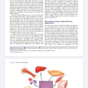 美容への幹細胞治療の今後の展開について