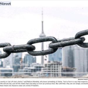 トロントの昼 4月4日  オンタリオ州首相の言葉が重い!?